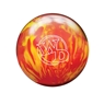 Columbia 300  White Dot Bowling Ball- Lava Fire