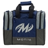 Motiv Shock Single Deluxe Tote Bowling Bag- Navy