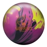 DV8 Warrant Solid Bowling Ball- Black/Magenta/Yellow