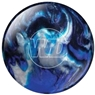 White Dot Blue/Black/Silver Bowling Ball