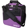 Ebonite Basic Single Bowling Bag- Purple