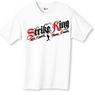 Strike King Bowling T-Shirt- White