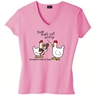 """DUDE- That's Wrong"" Poultry Days Ladies T-Shirt"