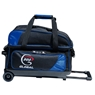 900 Global Value 2 Ball Roller Bowling Bag- Blue/Black