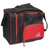 BSI Deluxe Single Ball Bowling Bag- Black/Red