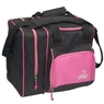 BSI Deluxe Single Ball Bowling Bag- Black/Pink