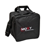 Moxy Single Tote Bowling Bag- Black