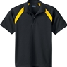 Ash City Youth Eperformance Color Block Pique Polo Shirt