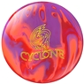 Ebonite Cyclone Bowling Ball- Orange/Purple/Red