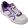 Brunswick Ladies Spark Bowling Shoes- White/Purple