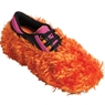 Brunswick Fun Shoe Covers- Fuzzy Orange