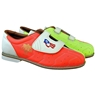Bowlerstore Ladies Glow TCR-GV Cobra Rental Bowling Shoes- Velcro