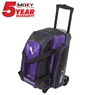Moxy Double Roller Bowling Bag- Purple/Black