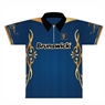 Brunswick Bowling Blue/Gold Dye-Sublimated Jersey