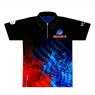 Ebonite Bowling Red/Blue Dye-Sublimated Jersey