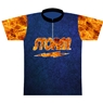 Radical Bowling Caution Tape Dye-Sublimated Jersey