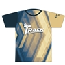 Track Bowling Blue/Beige Dye-Sublimated Jersey