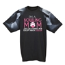 Bowling Moms Are Cooler T-Shirt T-Shirt with Bowling Sleeve Design