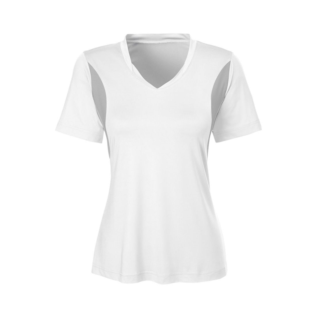 Team 365 Ladies Short-Sleeve Athletic V-Neck All Sport Jersey