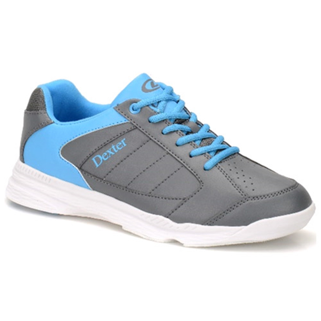 Dexter Mens Ricky IV Bowling Shoes- Grey/Blue