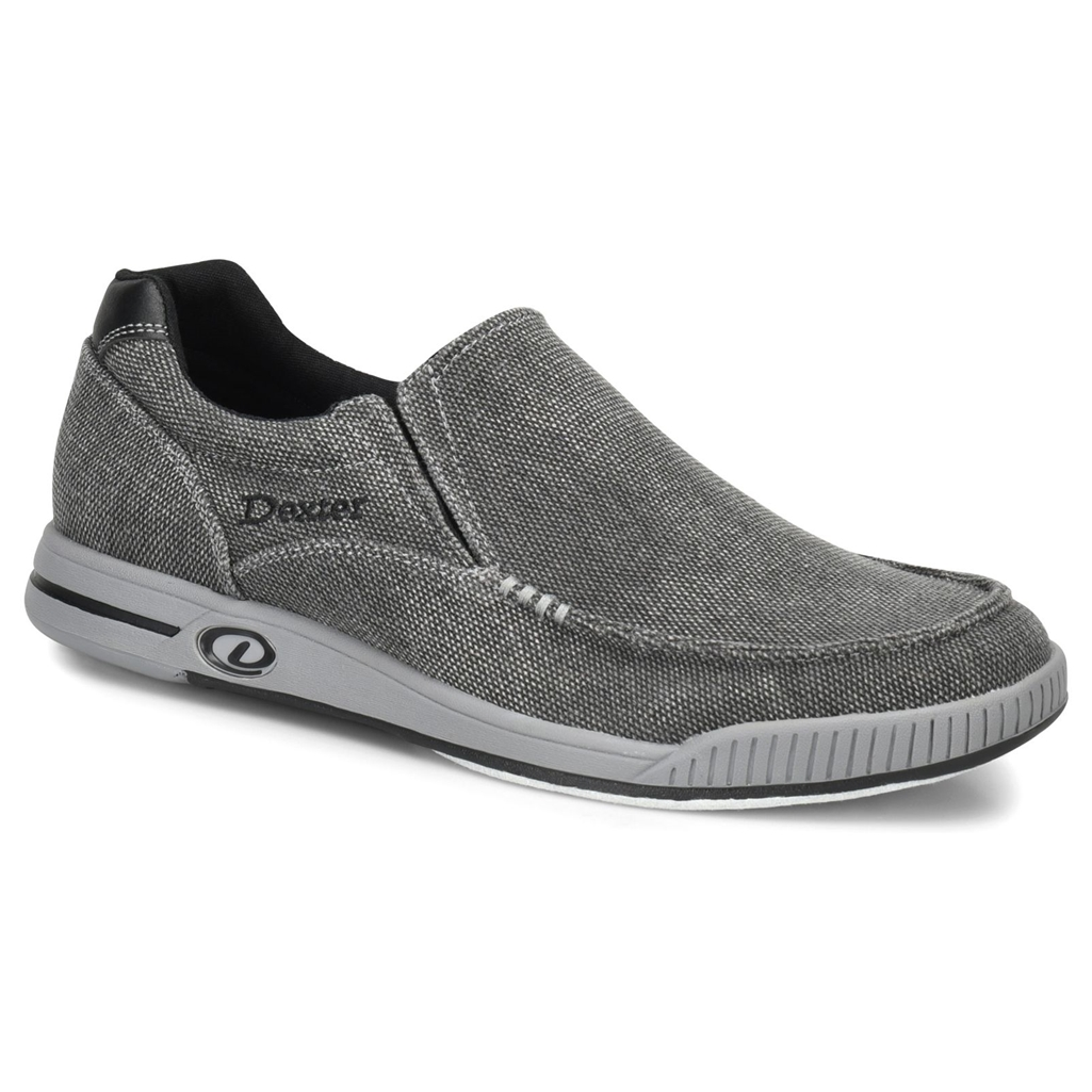 Dexter Mens Kam Bowling Shoes- Charcoal/Grey