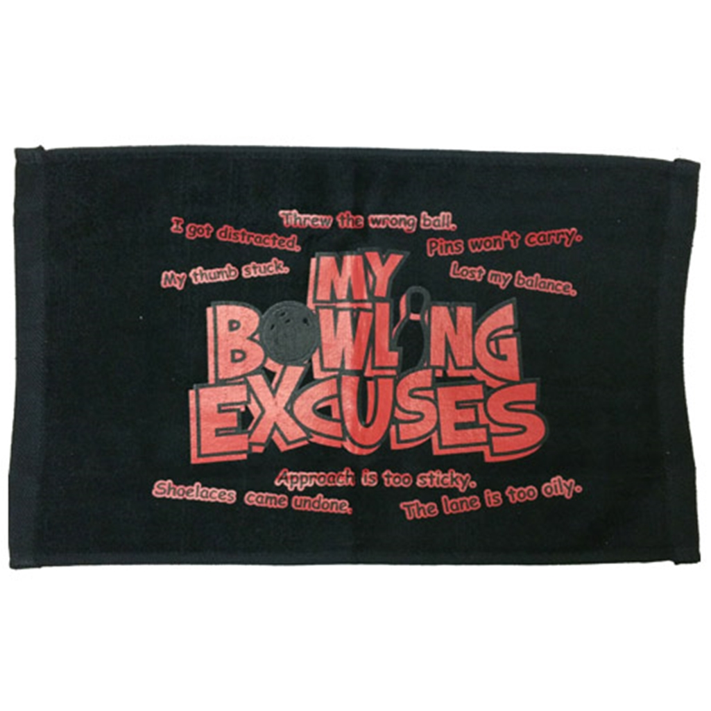 Bowling Excuses Towel by Master