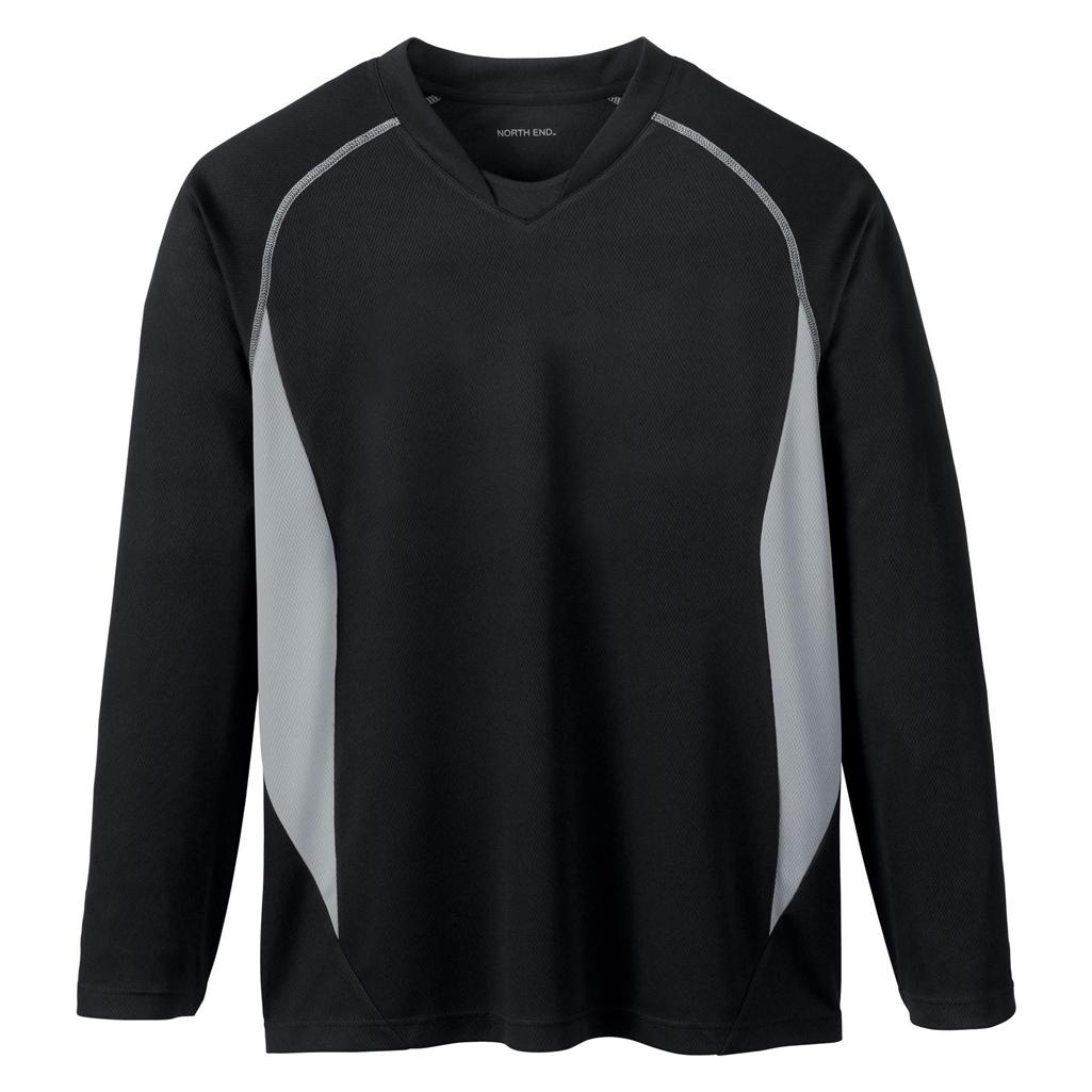 Ash City Mens Athletic Long Sleeve Sport Top